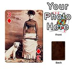 Bully Cards Playing Cards 54 Designs from Manda s Macabre Front - Diamond3