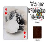 Bully Cards Playing Cards 54 Designs from Manda s Macabre Front - Diamond4