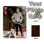 Bully Cards Playing Cards 54 Designs from Manda s Macabre Front - Diamond7