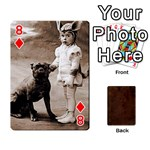 Bully Cards Playing Cards 54 Designs from Manda s Macabre Front - Diamond8