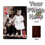 Bully Cards Playing Cards 54 Designs from Manda s Macabre Front - Diamond10