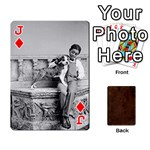 Jack Bully Cards Playing Cards 54 Designs from Manda s Macabre Front - DiamondJ