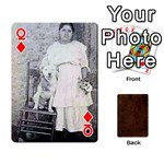 Queen Bully Cards Playing Cards 54 Designs from Manda s Macabre Front - DiamondQ