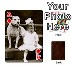 Ace Bully Cards Playing Cards 54 Designs from Manda s Macabre Front - DiamondA