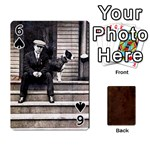 Bully Cards Playing Cards 54 Designs from Manda s Macabre Front - Spade6