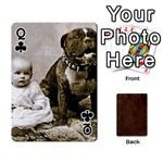 Queen Bully Cards Playing Cards 54 Designs from Manda s Macabre Front - ClubQ