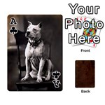 Ace Bully Cards Playing Cards 54 Designs from Manda s Macabre Front - ClubA