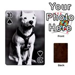 Bully Cards Playing Cards 54 Designs from Manda s Macabre Front - Spade10