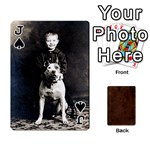 Jack Bully Cards Playing Cards 54 Designs from Manda s Macabre Front - SpadeJ