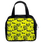 Brass Knuckles Classic Handbag (Two Sides) from Manda s Macabre Front