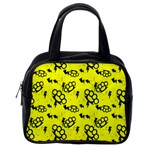 Brass Knuckles Classic Handbag (Two Sides) from Manda s Macabre Back