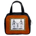 Skeleton Family Classic Handbag (Two Sides) from Manda s Macabre Front