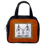 Skeleton Family Classic Handbag (Two Sides) from Manda s Macabre Back