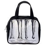 Leg Bones Classic Handbag (Two Sides) from Manda s Macabre Back