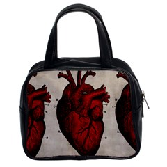 Human Hearts Classic Handbag (Two Sides) from Manda s Macabre Front