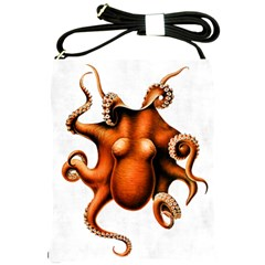 Cephalopoda Of The Hawaiian Islands Shoulder Sling Bag from Manda s Macabre Front