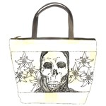 Death Flowers Bucket Bag from Manda s Macabre Front