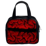 Vintage Brain Classic Handbag (Two Sides) from Manda s Macabre Front