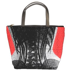X Ray Of Woman In A Corset Bucket Bag from Manda s Macabre Front