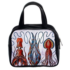 Octopus Educational Plate 1902 Classic Handbag (Two Sides) from Manda s Macabre Front