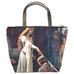 Accolade by Edmund Blair Leighton Bucket Bag from Manda s Macabre Back