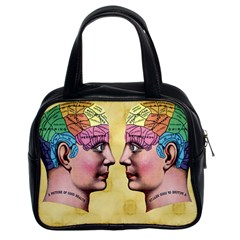 Phrenology Classic Handbag (Two Sides) from Manda s Macabre Front