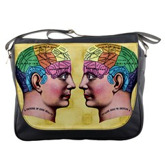 Phrenology Messenger Bag from Manda s Macabre Front