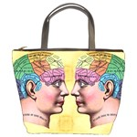 Phrenology Bucket Bag from Manda s Macabre Front