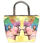 Phrenology Bucket Bag from Manda s Macabre Back