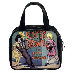 Buster Brown Classic Handbag (Two Sides) from Manda s Macabre Front