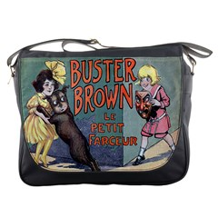 Buster Brown Messenger Bag from Manda s Macabre Front