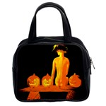 Halloween Vintage Classic Handbag (Two Sides) from Manda s Macabre Front