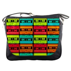Cassette Tape Messenger Bag from Manda s Macabre Front