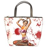 Zombie Pin Up Bucket Bag from Manda s Macabre Front