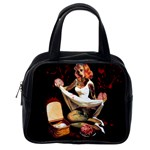 Zombie Pin Up Classic Handbag (Two Sides) from Manda s Macabre Back