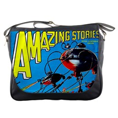 Amazing Stories 1927 Messenger Bag from Manda s Macabre Front