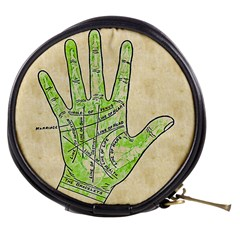 Palmistry Mini Makeup Bag from Manda s Macabre Front