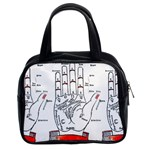 Palmistry Classic Handbag (Two Sides) from Manda s Macabre Front