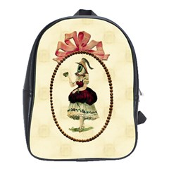 The Female Eye School Bag (Large) from Manda s Macabre Front