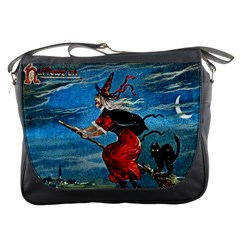 Hallowe en  Messenger Bag from Manda s Macabre Front