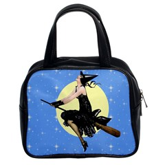 The Modern Witch Classic Handbag (Two Sides) from Manda s Macabre Front