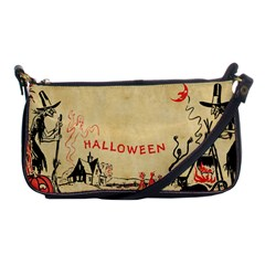 Halloween Witches Shoulder Clutch Bag from Manda s Macabre Front