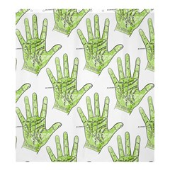 Palmistry Shower Curtain 66  x 72  (Large) from Manda s Macabre 58.75 x64.8  Curtain