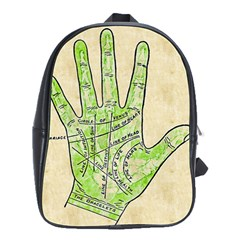 Palmistry School Bag (Large) from Manda s Macabre Front