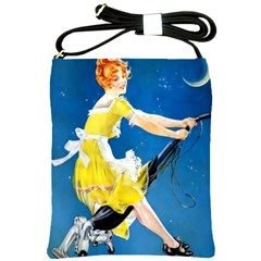 Halloween Vintage Shoulder Sling Bag from Manda s Macabre Front
