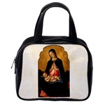 Madonna And Child Classic Handbag (Two Sides) from Manda s Macabre Back