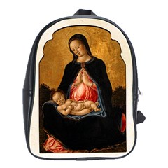 Madonna And Child School Bag (Large) from Manda s Macabre Front