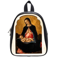 Madonna And Child School Bag (Small) from Manda s Macabre Front
