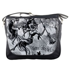 Witches  Dance Messenger Bag from Manda s Macabre Front