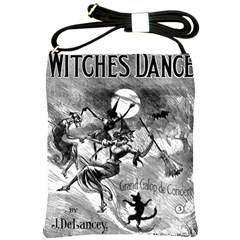 Witches  Dance Shoulder Sling Bag from Manda s Macabre Front